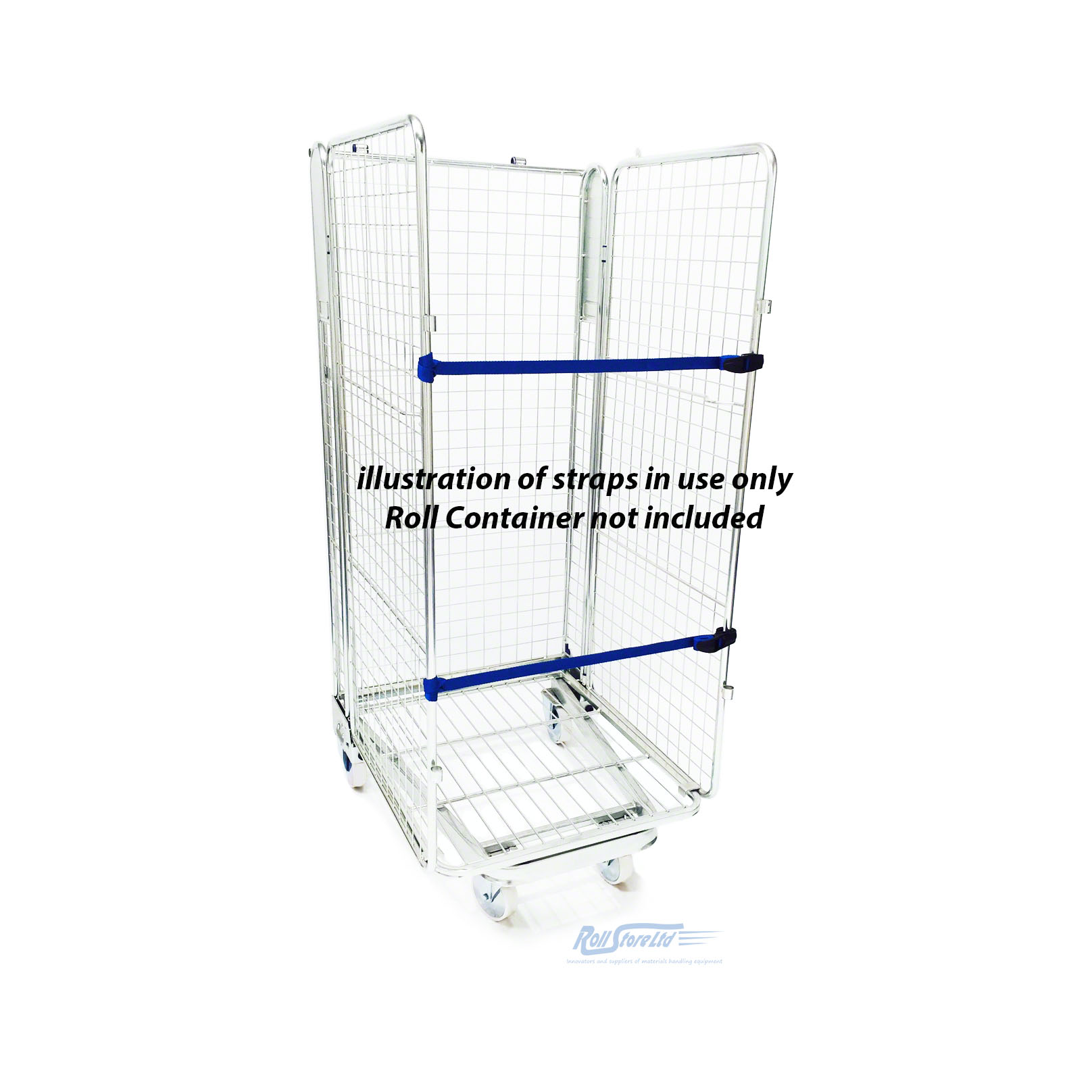 Nylon Retention Straps together with 2 3 4 Sided Z Frame Roll Cage in addition Two Sided Roll Cage besides 2 Sided Roll Cages moreover Roll Cages. on 2 sided roll cage trolley